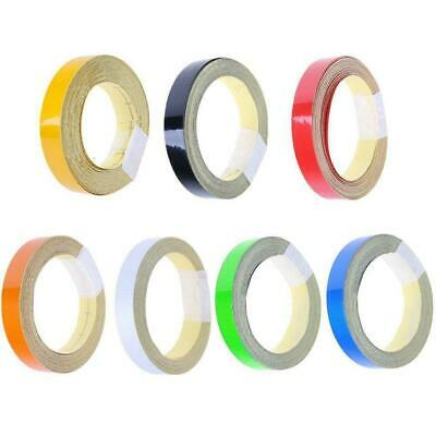 1cm*5m Car Truck Reflective Safe Warning Conspicuity Roll Tape Film Sticker D9Q8
