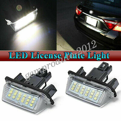 LED License Plate Light Assy For Toyota Camry Toyota Highlander Toyota Avalon 2x
