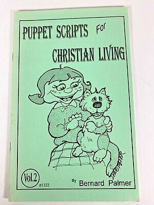 Puppet Scripts For Christian Living Gospel Dialogues Ventriloquist Routine Book