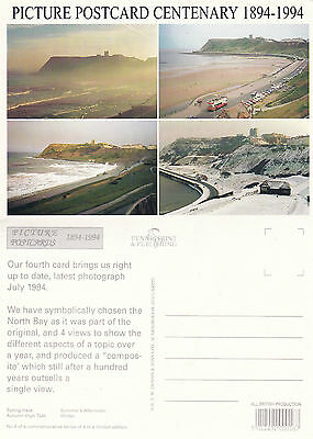 1994 Postcard Centenary Seaside Over 100 Years Advertising Postcard