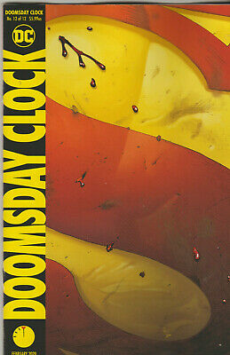 Dc Comics Doomsday Clock #12 February 2020 1St Print Nm