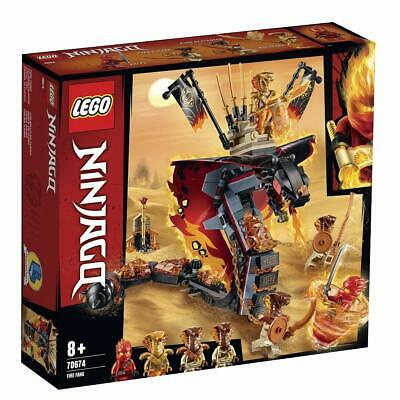 LEGO Ninjago Fire Fang Snake Set (70674) Brand New 463 Pieces Ages 8+