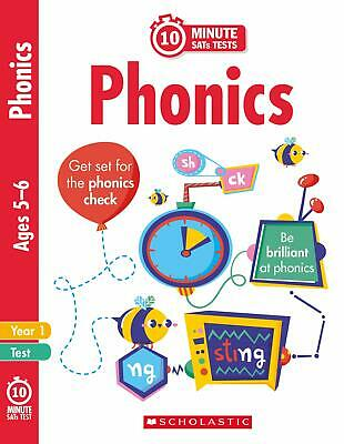 Phonics - Year 1 (10 Minute SATs Tests) New Paperback Book