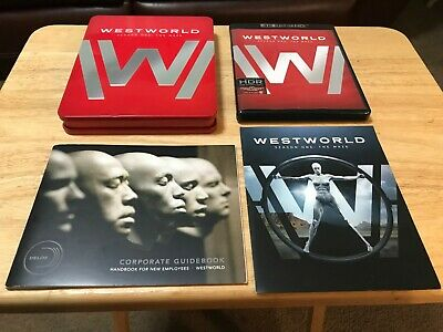 WestWorld First 1st Season One 1 4K Blu-ray Limited Edition Tin Complete 6 Disc