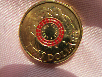 2015 Anzac Two Dollar Lest We Forget Coin Unc