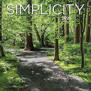 Simplicity 2020 16-Month Square Wall Calendar by Browntrout