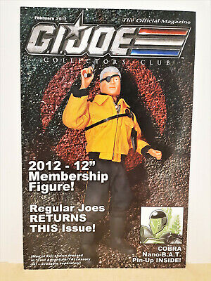 G.I. Joe Gijoe Collectors Club Official Magazine February 2012