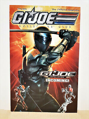 G.I. Joe Gijoe Collectors Club Official Magazine May 2012