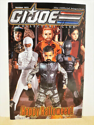 G.I. Joe Gijoe Collectors Club Official Magazine October 2012