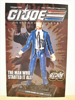 G.I. Joe Gijoe Collectors Club Official Magazine February 2014