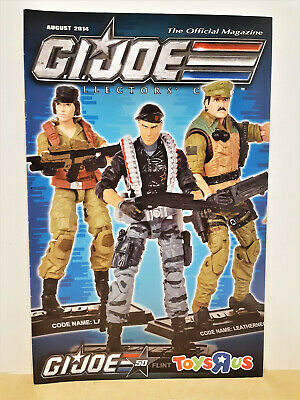 G.I. Joe Gijoe Collectors Club Official Magazine August 2014