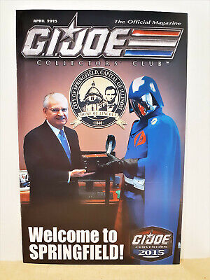 G.I. Joe Gijoe Collectors Club Official Magazine April 2015