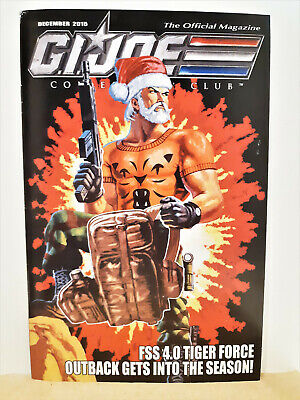 G.I. Joe Gijoe Collectors Club Official Magazine December 2015