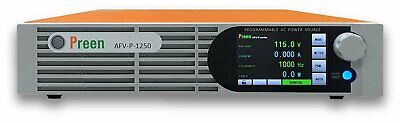 Preen Programmable AC Power Source 1250VA 1000W 0-310VAC 40-500Hz