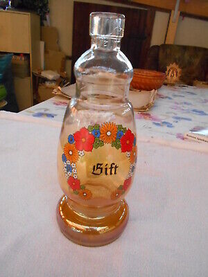 """Antike Apothekerflasche """"GIFT"""" - signiert """"FROWO Made in GDR"""""""