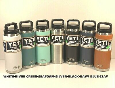 New Authentic Yeti Rambler 26 oz Bottle W/Lid  Choose Color Free Shipping