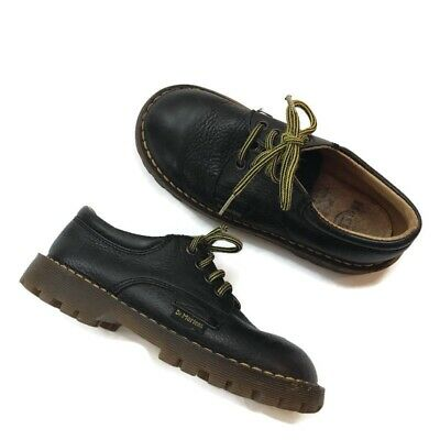Dr. Martens Black Made in England Children's Shoes Size 10