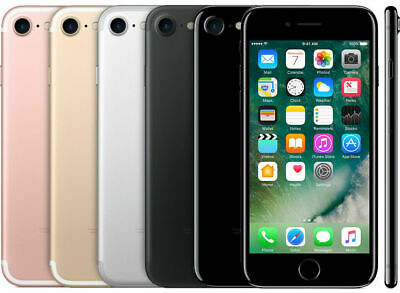 Apple iPhone 7 Smartphone 32GB 128GB Factory Unlocked 4G LTE WiFi iOS