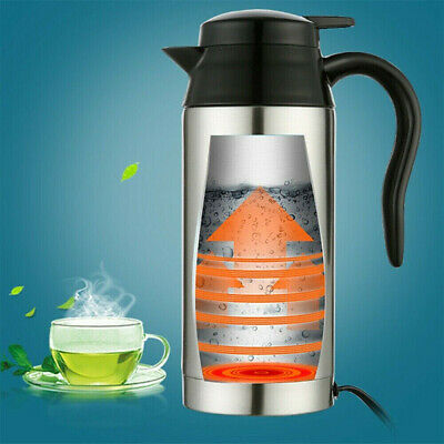 750ML 12V/24V Portable Electric Kettle Water for Car Travel Outdooor Camping