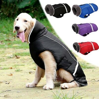 Pet Puppy Coat Waterproof Warm Jackets Winter Clothes for Small Medium Large Dog