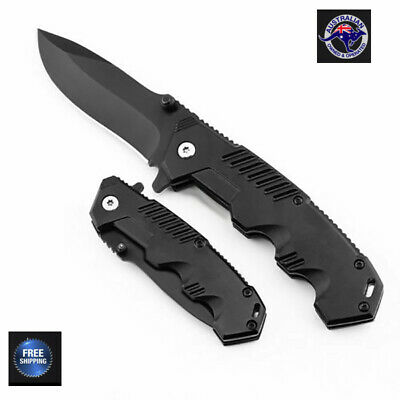 Folding Knife Tactical Survival Knives Hunting Climbing Fishing Steel Blade