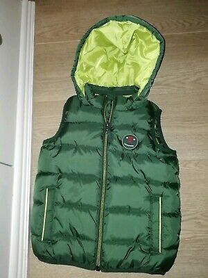 Boys Next Dinosaur Gillet Age 3-4 Years New No Tags Free UK Postage