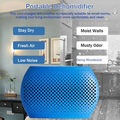 Portable Electric Dehumidifier Dry Air Moisture Remover 500ML For Home &