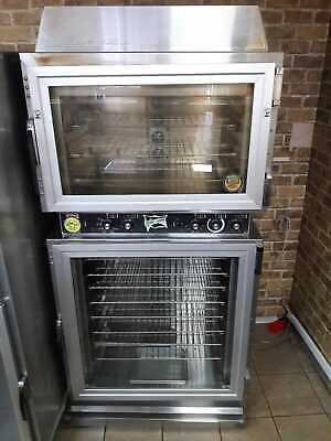 Electric Bread Convection Oven and Proofer Stainless Steel - Good Condition