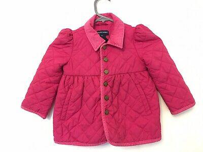 Ralph Lauren Fushia Pink Quilted Jacket Size 2T 2-3 Years Old