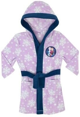 Disney Frozen Girls Dressing Gown Bathrobe NEW AGE 8 - 9 Years BNWT