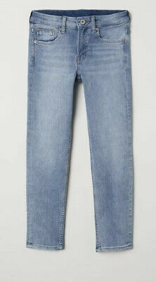 10-11 YEARS SUPER STRETCH SKINNY FIT JEANS BOYS H&M Light Denim Blue