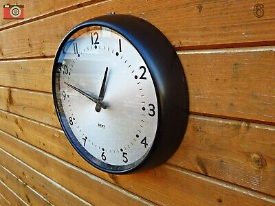 Vintage Gent Of Leicester Wall Clock. Bakelite. Restored & Updated. No Wires