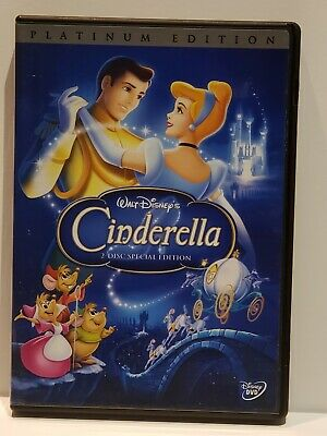 Cinderella DVD, 2005, 2-Disc Set, Special Edition - DVD Platinum Collection