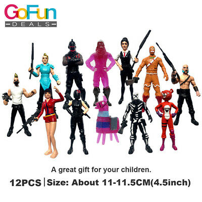 12 Pieces Fortnite Character Collection Toy Action Figure Kids Gift