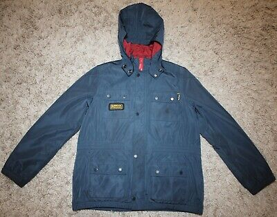 Barbour Childrens NYLOC JACKET in Navy Blue - XL [3804]