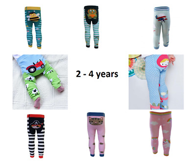 Powell Craft Leggings Farm Pirates Cat Bee Mermaid Plane asstd designs 2 - 4