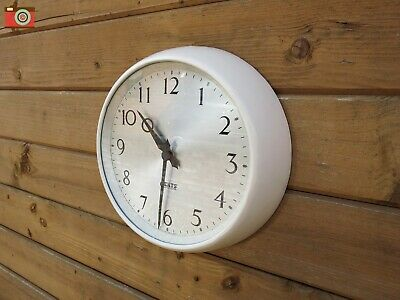 Gents Of Leicester Cream Retro Wall Clock Bakelite. Restored, Updated. Lovely