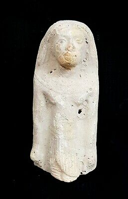 Ptahmai Bust Roman Period Egyptian Faience Ancient Greek Isis Hathor Antique