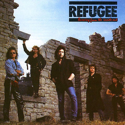 Refugee - Burning From The Inside Out - Rare Sealed Cd