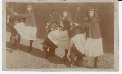 Children Dressing Up Games Bows & Arrows Unidentified Location RP Unused