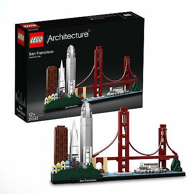 Lego Architecture San Francisco 21043 Brand New 565 Pieces Age 12+ Free Shipping