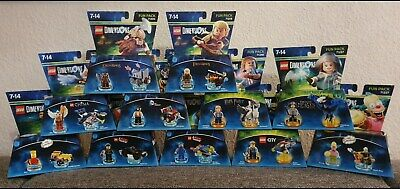 Lego Dimensions Fun Packs Level Packs Neu, Aquaman, Wonder Woman,Simpsons usw