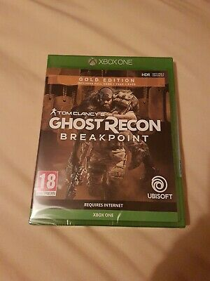 Tom Clancys Ghost Recon Breakpoint Gold Edition (Xbox One) New & Sealed