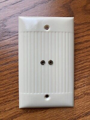 Vintage Sierra Electric Corp D-13 TV Flat Antenna Wire Jack