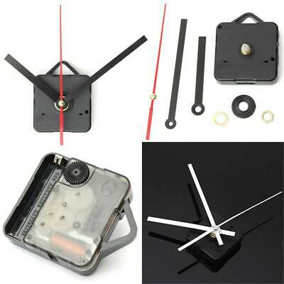 UK Quiet Quartz Wall Clock Movement Mechanism DIY Repair Parts Kit Short Shaft