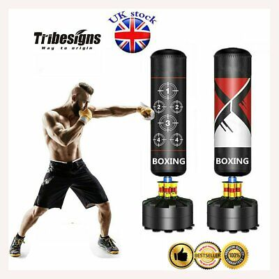 Free Standing Boxing Punch Bag Kick Tumbler MMA Martial Training For Adult Child