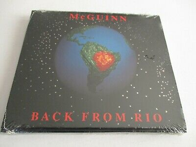 ROGER McGUINN Back From Rio CD 1991 Promo Only Digipak APCD-8648 NEW