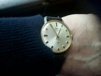 Vintage Gent's Swiss Systema G.p.watch Sub Dial Serviced And Oiled V.g.w.cond.