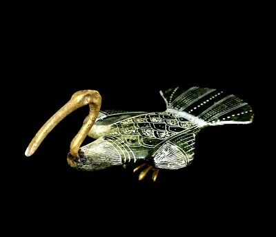 Ibis Egyptian Statue Thoth God Ancient Sculpture Figurine Egypt Bird stone bronz