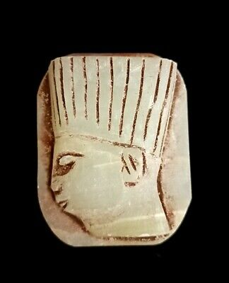 King Amulet Egypt Egyptian Ancient Antiques Antiquities Statue Pharaoh Figurine